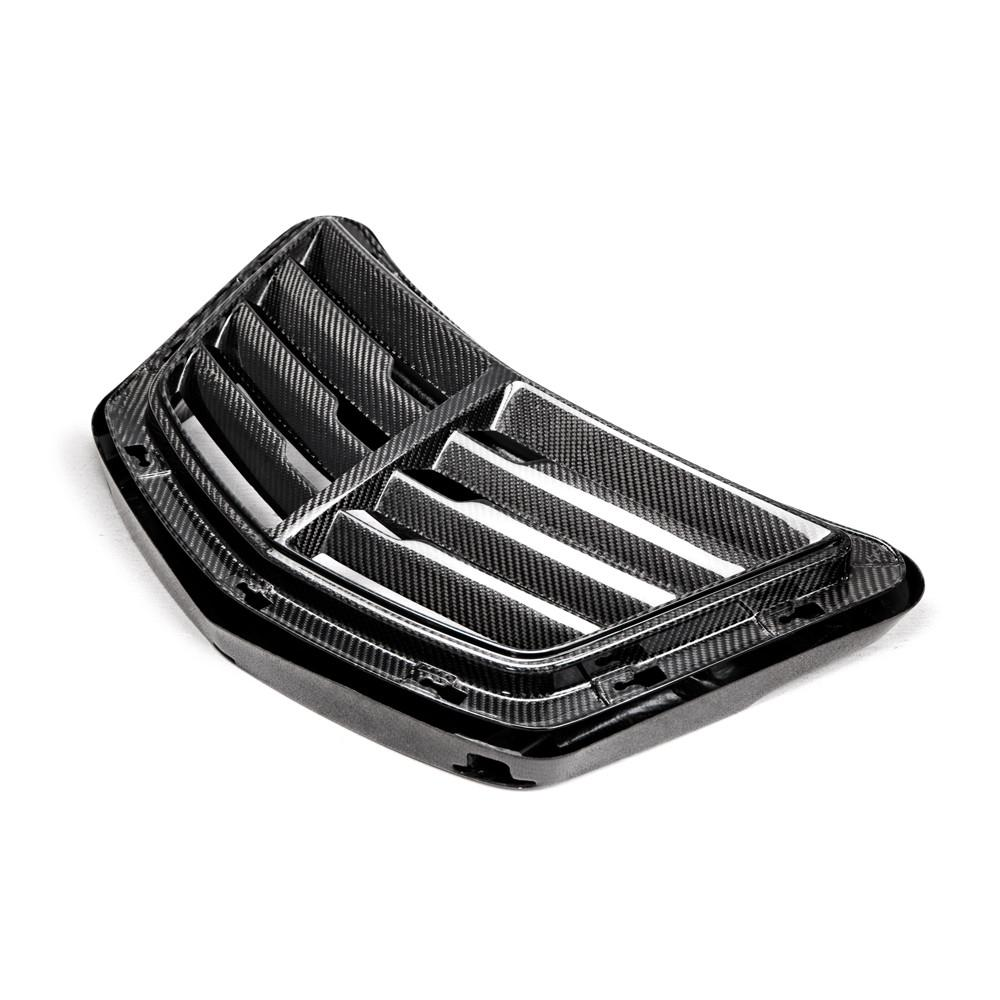 2014-2018 Chevrolet Corvette C7 Stingray Carbon Fiber Front Hood Vent Heat Extractor