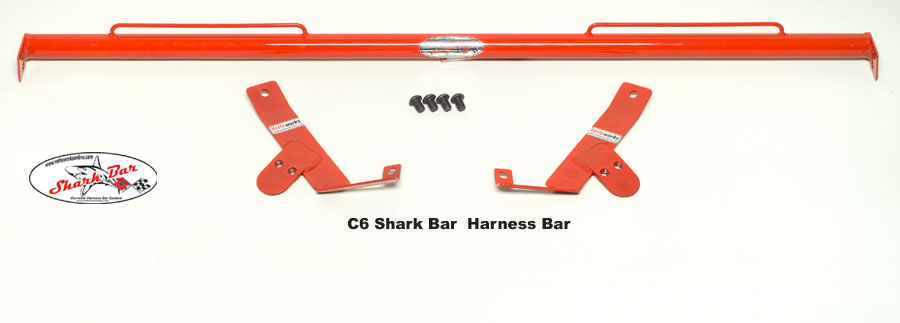 Corvette C6 & Z06, ZR1, Grand Sport Sharkbar Harness Mounting Bar Only 2005-2013