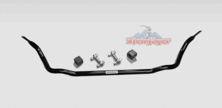 "Corvette C6 2005-2013, Front Sway Bar with Heavy Duty End Links, 1.25"" x 0.120"" W DOM Tube & Poly Kit"